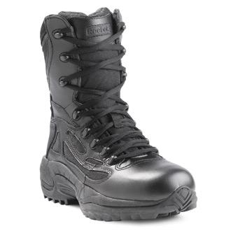 """Reebok Women's 8"""" Rapid Response Side Zip Composite Toe Boot"""