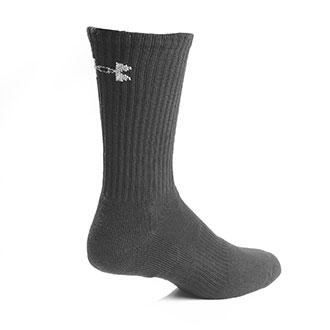Under Armour Charged Cotton 2.0 Crew Sock 6 Pack