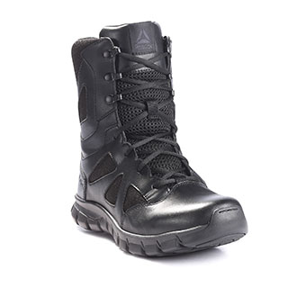 """Reebok 8"""" Sublite Cushion Tactical Side Zip Boot"""