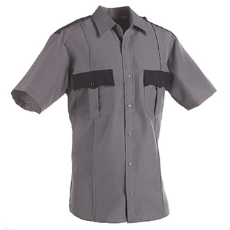 LawPro Polyester Two Tone S/S Shirt