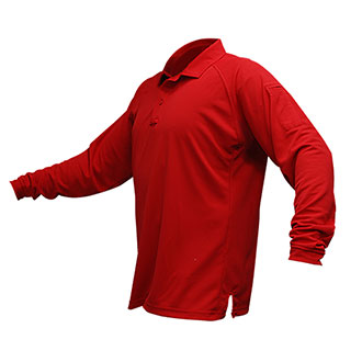 Vertx Long Sleeve Action Polo with Coldblack